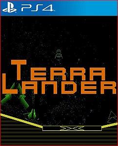 TERRA LANDER PS4 MIDIA DIGITAL