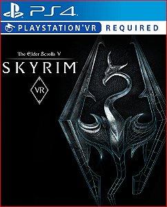 THE ELDER SCROLLS V: SKYRIM VR PS4 MÍDIA DIGITAL   PROMOÇÃO