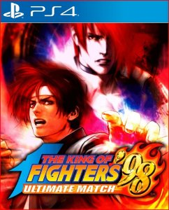 THE KING OF FIGHTERS 98 ULTIMATE MATCH PS4 MÍDIA DIGITAL