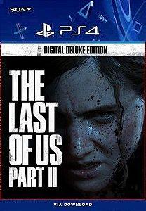 THE LAST OF US PART II DIGITAL DELUXE EDITION PS4 MÍDIA DIGITAL