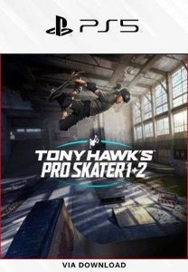 Tony Hawk's Pro Skater 1 + 2 PS5 psn mídia digital
