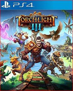 Torchlight III ps4 midia digital
