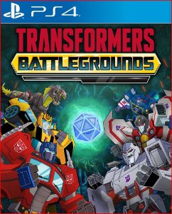 Transformers Campos de Batalha ps4 midia digital