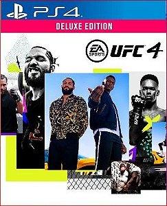 Ufc 4 Deluxe ps4 midia digital