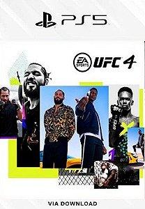 UFC 4 PS5 MÍDIA DIGITAL