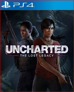 UNCHARTED: The Lost Legacy PS4 midia digital