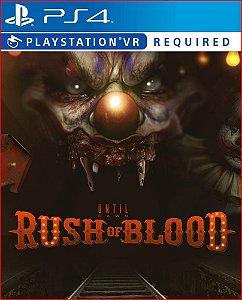 Until dawn rush of blood ps4 midia digital