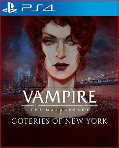 Vampire: The masquerade - coteries of new york ps4 midia digital