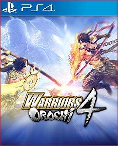 Warriors orochi 4 ps4 midia digital