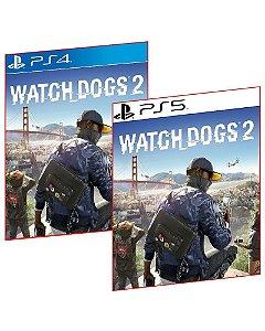 WATCH DOGS 2 PS4 E PS5 MÍDIA DIGITAL