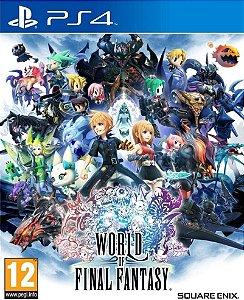 World of Final Fantasy ps4 midia digital