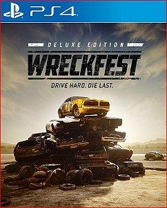 Wreckfest Deluxe Edition ps4 psn midia digital