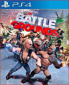 Wwe 2K Battlegrounds ps4 midia digital