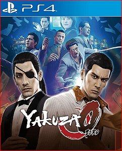 yakuza 0 ps4 midia digital
