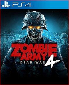 Zombie Army 4 Dead War ps4 midia digital