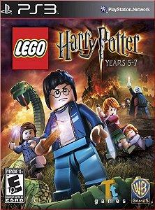 LEGO HARRY POTTER: YEARS 5-7 PS3 PSN MÍDIA DIGITAL