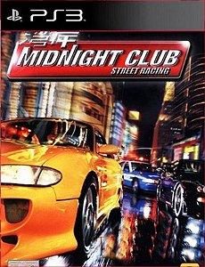 MIDNIGHT CLUB (PS2 CLASSICS) PS3 PSN MIDIA DIGITAL