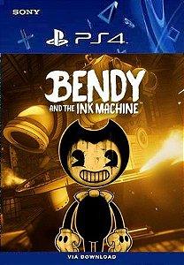 BENDY AND THE INK MACHINE PS4 MÍDIA DIGITAL PSN