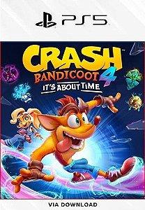 Crash Bandicoot 4: IT'S about Time PS5 psn Mídia Digital