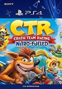 Crash Team Rancing Nitro Fueled Português PS4 Mídia Digital