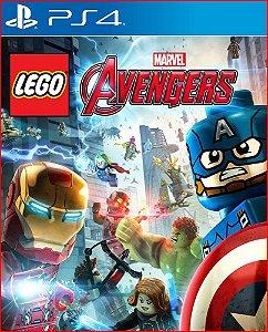 LEGO MARVEL AVENGERS PS4 PORTUGUÊS MÍDIA DIGITAL