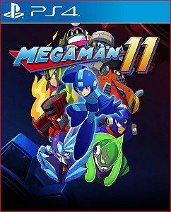 MEGA MAN 11 PS4 MÍDIA DIGITAL PSN