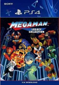 MEGA MAN LEGACY COLLECTION PS4 MÍDIA DIGITAL
