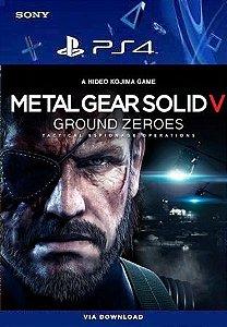 METAL GEAR SOLID V: GROUND ZEROES PS4 MÍDIA DIGITAL