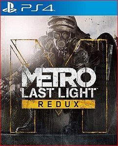 METRO LAST LIGHT REDUX PS4 MÍDIA DIGITAL