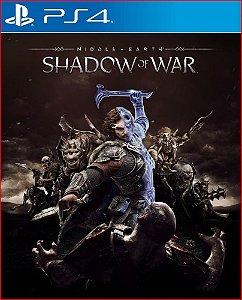 MIDDLE-EARTH SHADOW OF WAR PS4 MÍDIA DIGITAL
