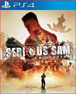 SERIOUS SAM COLLECTION PS4 MÍDIA DIGITAL
