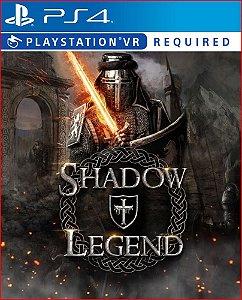 SHADOW LEGEND VR PS4 PROMOÇÃO MÍDIA DIGITAL