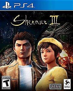 SHENMUE 3 PS4 PSN MÍDIA DIGITAL
