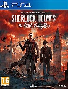 SHERLOCK HOLMES: THE DEVIL'S DAUGHTER PS4 MÍDIA DIGITAL