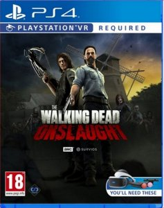 The walking dead onslaught ps4 midia digital