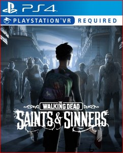 The walking dead: saints and sinners ps4 midia digital