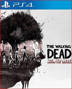 The Walking Dead: The Telltale Definitive Series ps4 mídia digital