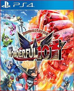 The Wonderful 101 Remastered Ps4 Mídia Digital
