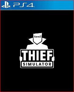 Thief simulator ps4 midia digital