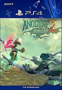 ANODYNE RETURN NO DUST 2 PS4 MIDIA DIGITAL