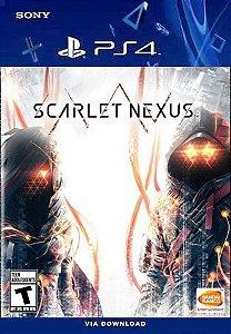 SCARLET NEXUS PS4 MIDIA DIGITAL