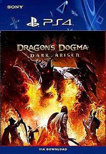 DRAGONS DOGMA DARK ARISER PS4 MIDIA DIGITAL
