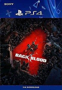 BLACK 4 BLOOD PS4 MIDIA DIGITAL