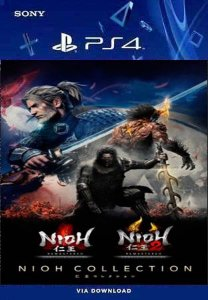 A COLEÇÃO NIOH 1 E 2 PS4 MIDIA DIGITAL