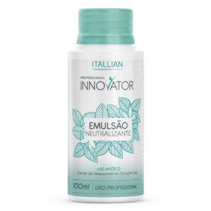 Emulsão Neutralizante Straight Hair Innovator ITALLIAN 100ml