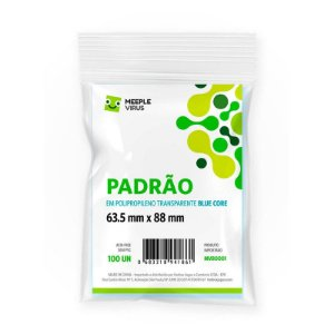 Sleeves Padrao 63,5 x 88 mm (Blue Core)