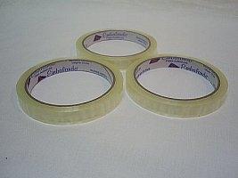 Fita adesiva cristal 19mm x 50m (EMBALANDO) pacote com 13 rolos