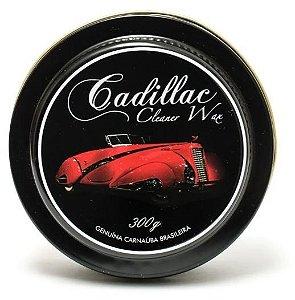 Cera De Carnaúba Cleaner Wax Original Cadillac Gold 300g Alto Brilho