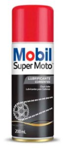 Óleo Lubrificante Corrente Super Moto Honda Yamaha Harley Original Mobil Chain Lube Spray 200ml