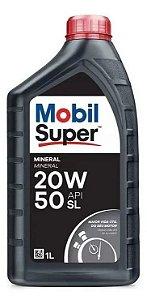 Oleo Lubrificante de Motor Original Mobil 20w50 SL Super Mineral